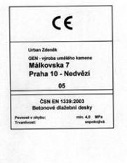ČSN EN 1339:2003