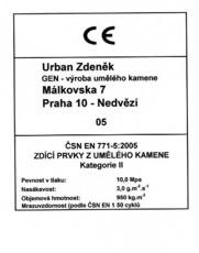 ČSN EN 771-5:2005